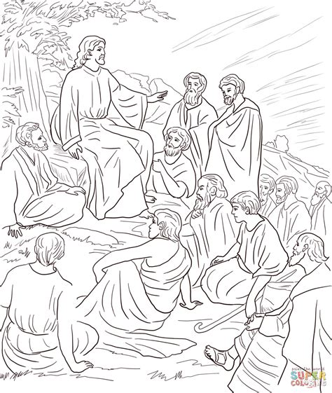 coloring page of jesus teaching jesus arose coloring coloring pages