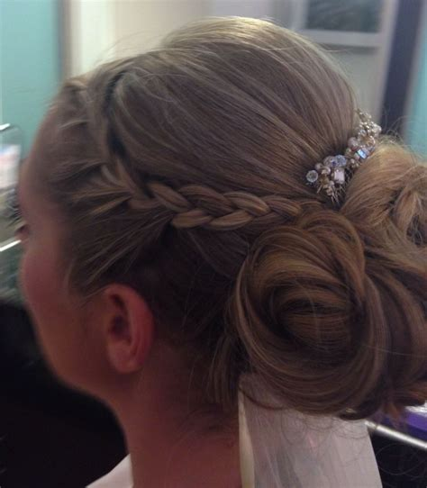 formal side french braid updo 17 best images about braided up hairstyles on pinterest