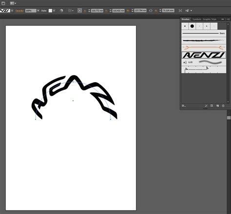 illustrator pattern brush without distortion adobe illustrator how can i curve a logo on a path