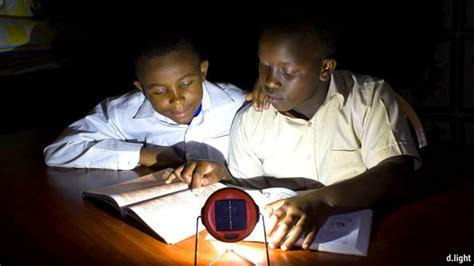 Led Lu Taman Energi Solar Black lighting the way the economist