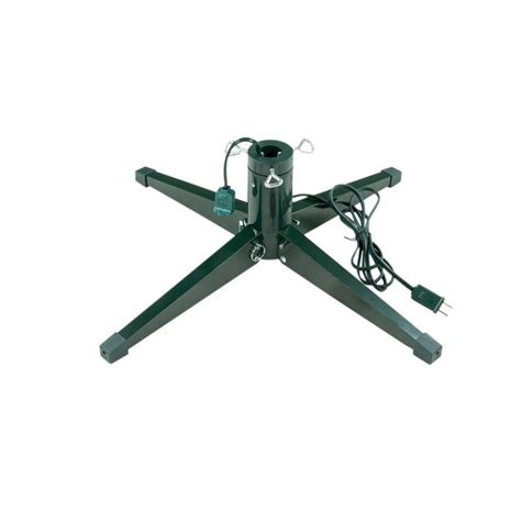 rotating christmas tree stand home depot ideal revolving tree stand for artificial trees up to 8 ft 95 24rv the home depot