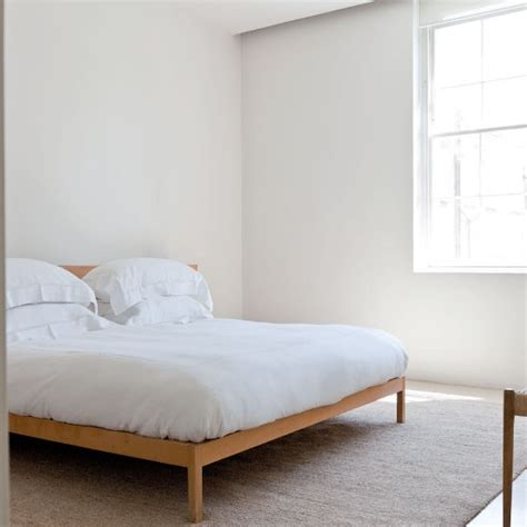 minimalistic bed master bedroom be inspired by a minimal white home