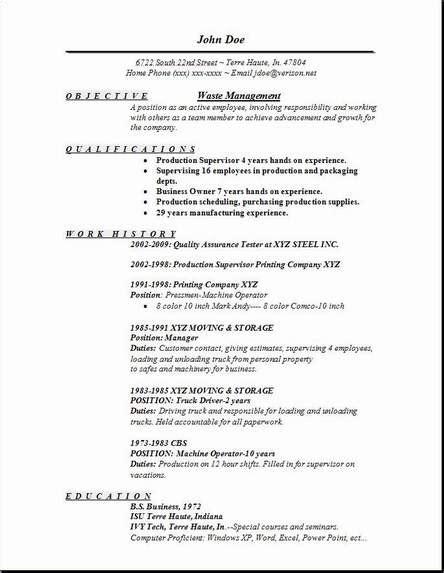 cover letter for waste management waste management resume occupational exles sles