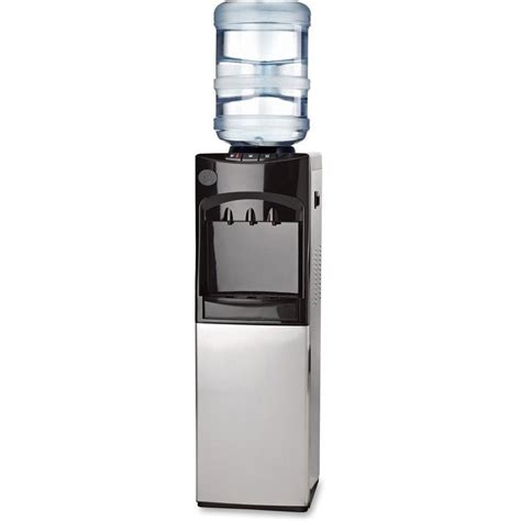 genuine joe 20l cabinet freestanding water cooler gjo22552