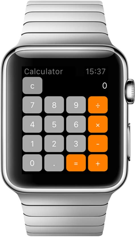 calculator on apple watch apple watch tutorial