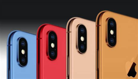 iphone 9 colors 2018 iphone 9 will feature sundry of color variants except everyone s favorite