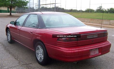 1997 dodge intrepid inside and out