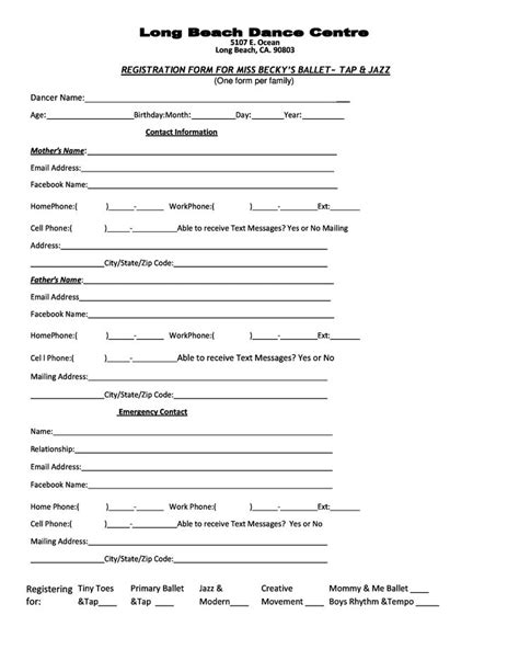 martial arts contract template 7 best images about registration class schedule 2014 on
