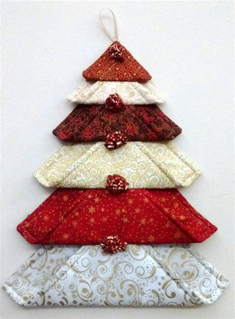 christmas bulbs demcoration with fabric best 25 fabric ornaments ideas on fabric ornaments folded fabric
