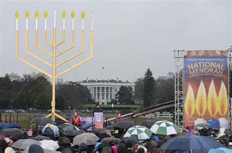 menorah house menorah lighting at white house celebrating jewish racism genocide david duke com