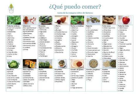 lista de alimentos sin lactosa lista de alimentos sin gluten y sin lactosa solo otras