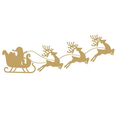Aufkleber Weihnachten Fenster by Aufkleber Fenster Dekoration Rentier Schlitten Sch 246 Ne