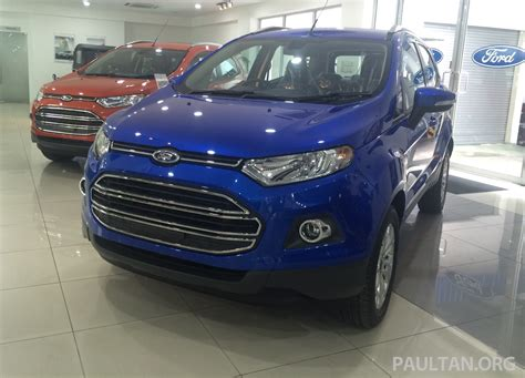 Jeep Malaysia Showroom Ford Ecosport Paultan Autos Post