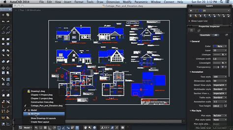 tutorial autocad 2014 autocad 2014 for mac tutorial show drawings and layouts
