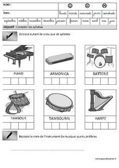 Compter le nombre de syllabes d'un mot | Phonologie