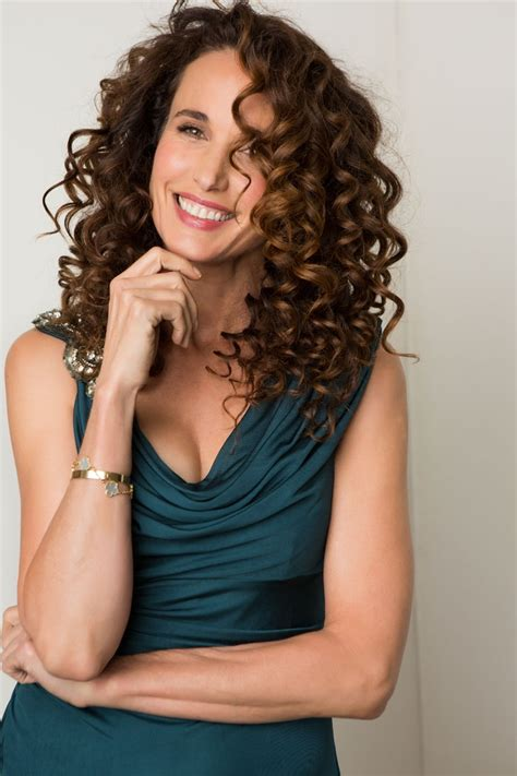 andi macdowell pictures and photos andie macdowell moves magazine hair make up fashion
