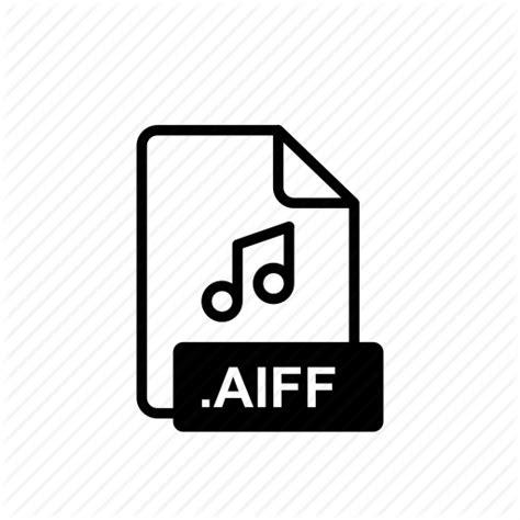 audio file format aiff aiff aiff file audio file extension format grid icon