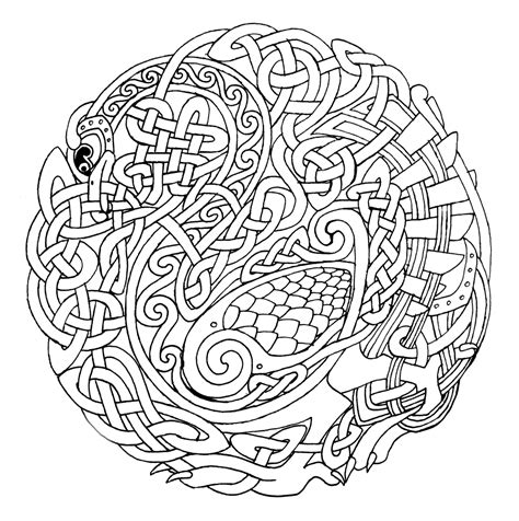 free coloring pages mandalas celtic 1000 images about celtic design on celtic