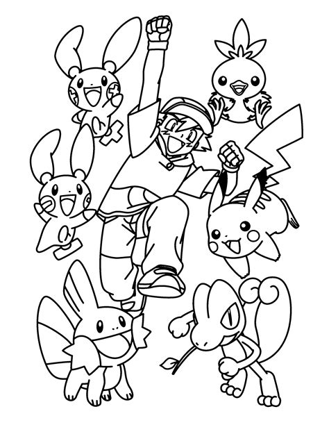 coloring page pokemon advanced coloring pages 1