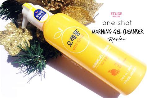 Etude One Morning Cleanser 2 Items Sachet korean