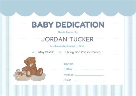 baby certificate template baby dedication certificates t sarahepps