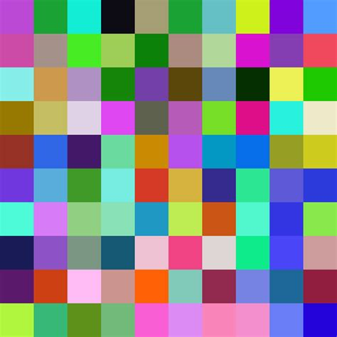 download pattern mosaic 10 x 10 a 10x10 grid of random colours by catfacebunyyawesome on
