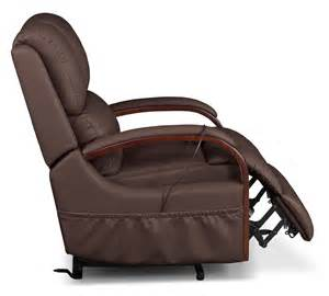 bonded leather power lift recliner brown united