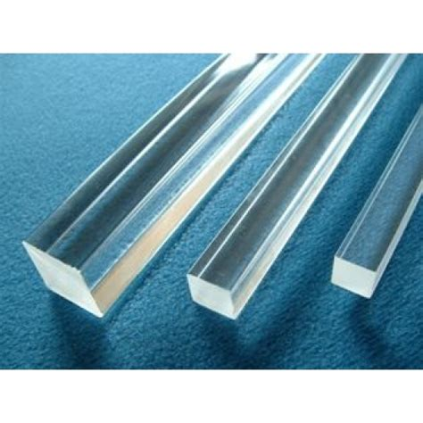 Acrylic Clear 5mm 5mm x 1000mm clear acrylic square bar extruded