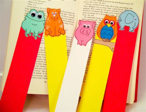 Handmade Bookmark Images - handmade bookmarks animals set of from