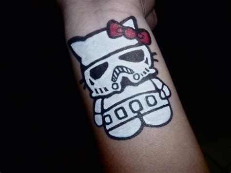 hello kitty tattoo on wrist 51 amazing stromtrooper tattoos