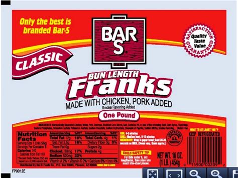 bar s recall bar s foods recalls dogs listeria concern abcactionnews wfts tv