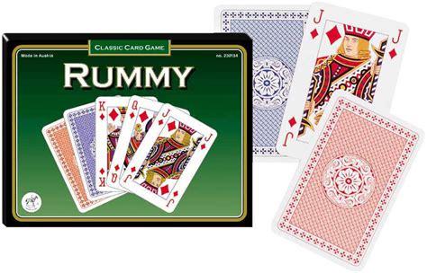 rummy gin rummy playing cards by piatnik zin 416297