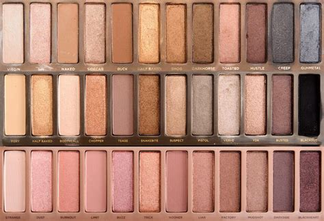 Rude In Your 3 In 1 Palette decay 3 palette 2 and 1 review comparison