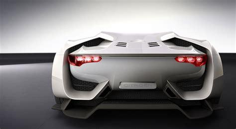 citroen concept new cars models citroen gt concept sports car