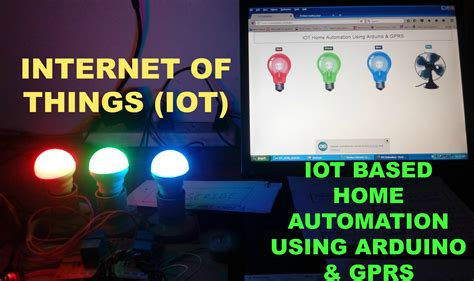 iot home automation using arduino