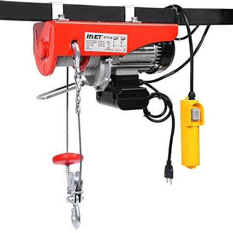 Electric Hoist Garage by Goplus 174 1320 Lbs Mini Electric Wire Hoist Remote