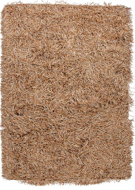 Patterned Shag Rug by Gold Yellow Solid Pattern Shag Rug Modern Rugs By