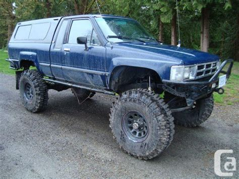 85 toyota 4x4 lifted 85 toyota 4x4 cab crawler langley for
