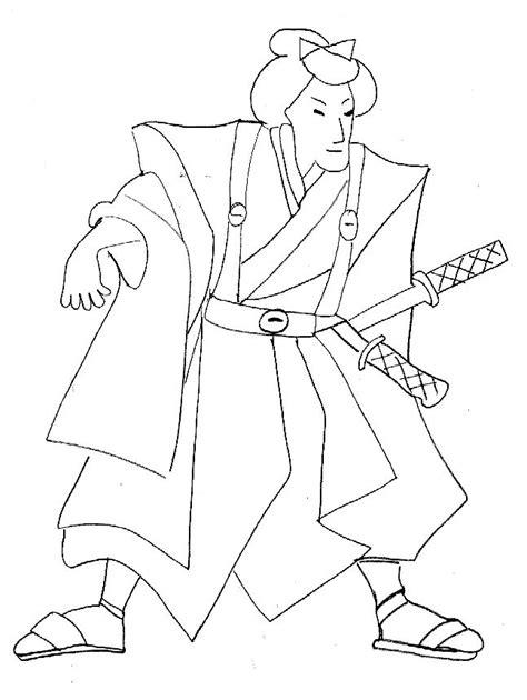 dessins de coloriage power rangers samurai  imprimer