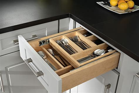 Two Tiered Cutlery Drawer by Kitchen Accesories