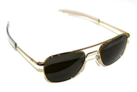 Sunglass Ao American Optical Skymaster Pilot Gold G Diskon awardpedia ao american optical original pilot sunglasses gold 55mm bayonet temples