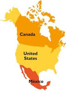 united states map with canada and mexico america toobin 5050