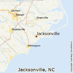 best places to live in jacksonville carolina