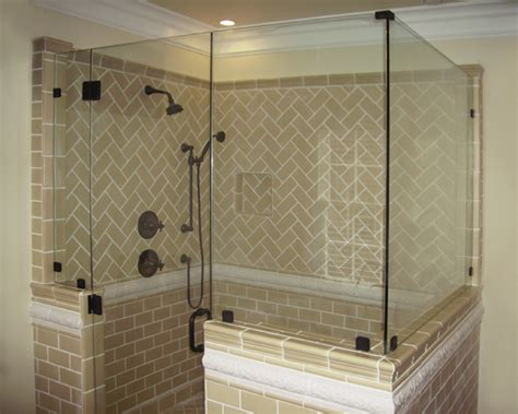 glass shower door half wall custom glass works of fort mill sc serving and