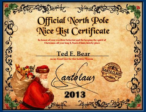 Official Letter From Santa Official Pole Mail Personalized Letters From Santa
