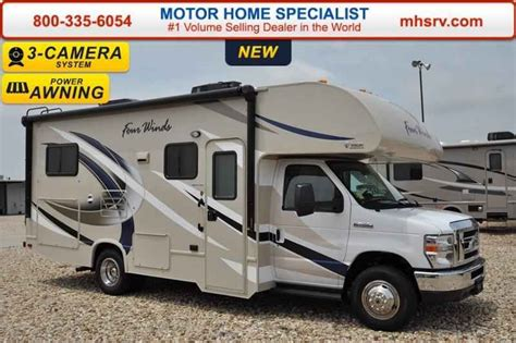 Four Winds Motor Home Class C Rv Sales 19 Floorplans | 2017 new thor motor coach four winds 24c class c rv for