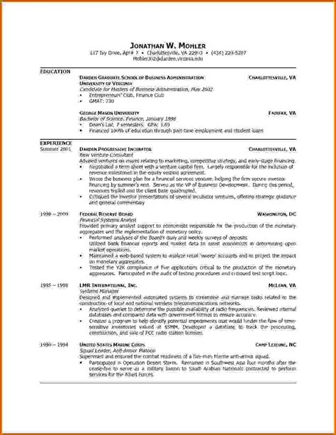 formal resume format sle 5 how to write a student cv format lease template