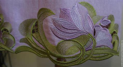Embroidery Handmade Designs - design for machine embroidery floral neckline richelieu