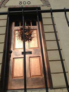 repainting the front door the woo woo teacup journal hand painted metallic copper door finish captivating