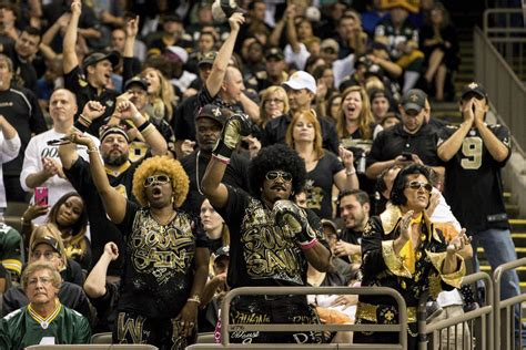 saints fan shop orleans day rituals saints fans prepare like pros canal